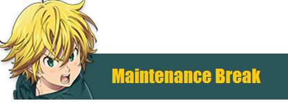 9/15 Maintenance and Update Notice